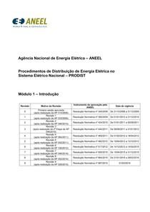 Procedimentos de Rede - ONS - Módulo1 Revisao 9