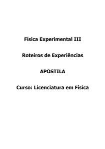 andreluiz Física Experimental III Física