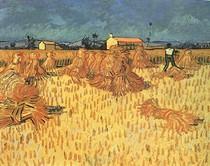 Vincent Willem van Gogh - Colheita em Provence