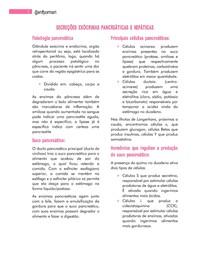Secreções exóticas, pancreáticas e hepáticas