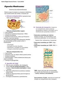Organelas Membranosas