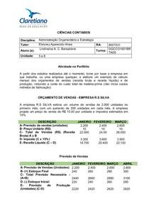 PORTFOLIO - ADM ORÇAMENTARIA E ESTRATEGIA 2