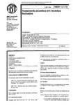 NBR 12179 - Tratamentos Acusticos em locais fechados