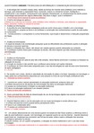 QUESTIONÁRIO UNIDADE I TECNOLOGIA DA INFORMAÇÃO E COMUNICAÇÃO EM EDUCAÇÃO