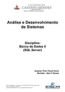 ESCM_Banco de Dados II