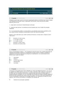 avaliação parcial