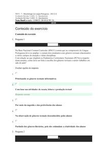 Aol 3 metodologia da lingua portuguesa