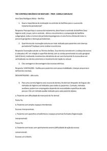 TED CONTROLE MECÂNICO DO BIOFILME