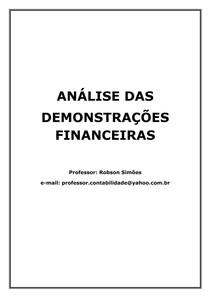 AnaliseDemonstracoesFinanceiras