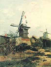 Vincent Willem van Gogh - Le Moulin-de-Blute-Fin