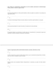 EXERCICIOS RESOLVIDOS - ADMINISTRAÇÃO PÚBLICA