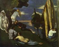 Paul Paul Cézanne - Pastorale