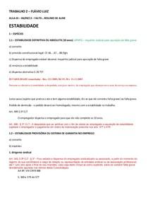 Direito do Trabalho 2 - Módulo 1
