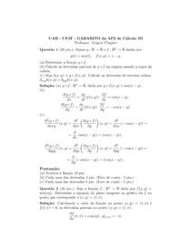 Cálculo III - Continuação