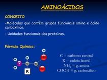 Aminoácidos Estrutura Classificação E Propriedades Bioquí