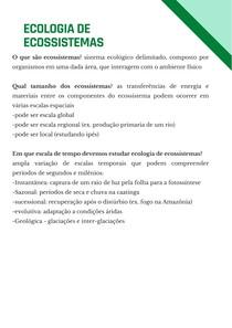 Ecologia de Ecossistemas