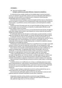 Resumo de Artigos Denstistica, Endodontia e Cirurgia