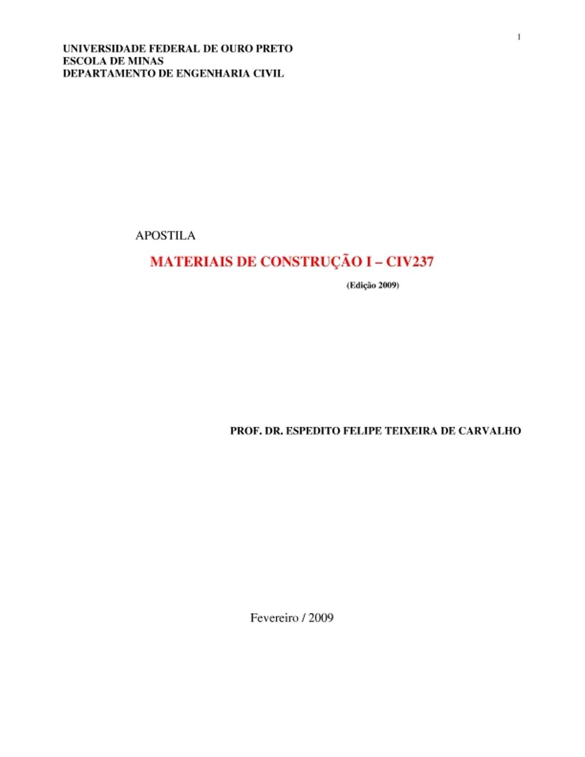 Pre-visualização do material Apostila Prof Expedito - página 1