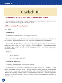 Metodologia e prática do ensino de Matemática e Ciências - Unidade III