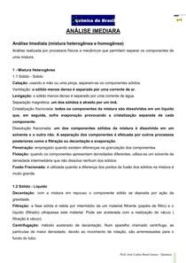 Análise Imediata - teoria (Prof Brasil)