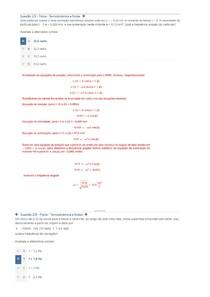 Apol 1  Fisica termodinamica e Ondas   100%