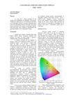 O Sistema de cores em Computação Gráfica