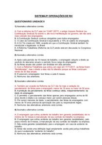 SISTEMA PARA OPERAÇÕES DE RH - QUEST 02 E TELEAULA 02