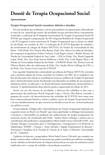 Dossiê Terapia Ocupacional social - editorial