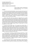 Unidade I - Relações Internacionais 2011-2
