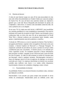 PRODUÇÃO PUBLICITÁRIA ONLINE B1