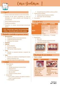 Cárie Dental I