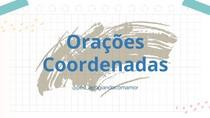 Português - Orações Coordenadas
