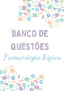 Banco de Questões - Farmacologia Básica