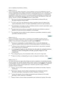 AV2 Farmacognosia Pura