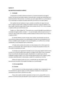 Capítulo IV - ERRO