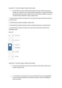 Apol 12345 - PRÁTICA DE ESTAGIO - PROJETO DE INTERVENÇÃO