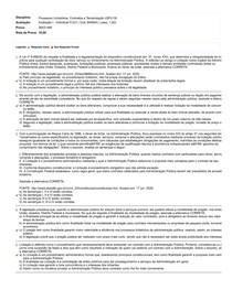 Processos Licitatórios, Contratos e Terceirização (GPU19)_Avaliação I