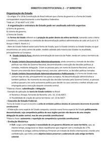 DIREITO CONSTITUCIONAL 2 - PROF LUCIMAR