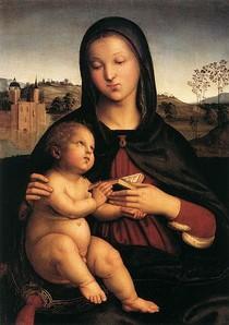Raphael Sanzio - Madonna and Child
