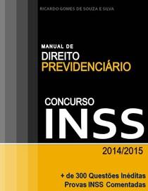 Manual de Direito Previdenciário - Concurso INSS - 2014 - 2015
