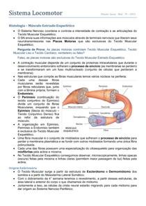 Histologia - Tecido Musculesquelético