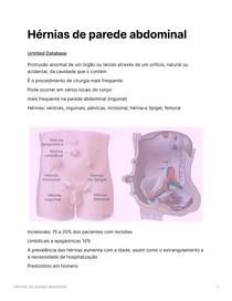 Hérnias de parede abdominal