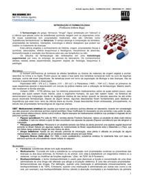 FARMACOLOGIA 01 - Introdução a Farmacologia - MED RESUMOS 2011