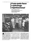 Artigo - O que pode fazer o psicólogo organizacional (Antônio Virgilio Bittencourt BastosI; Ana Helena Caldeira Galvão-Martins)