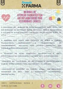 Medidas de Atenção Farmacêutica: Interações dos Antinflamatórios Não Esteroidais (AINES)