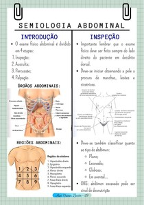 RESUMO - semiologia abdominal