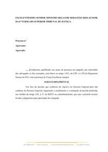 Agravo Regimental - Súmula 7 STJ (2)