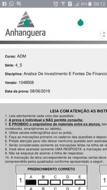 1 PROVA ANALISE DE INVESTIMENTOS versão 1048508