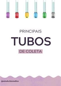 TUBOS DE COLETA