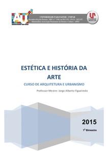 2015 Apostila de Estetica e Historia da Arte